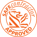 Safe Contractor Orange Logo