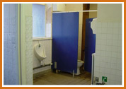 Toilet facilities Before